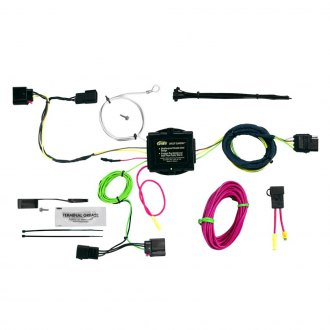 Hopkins® - Plug-In Simple!® Towing Wiring Harness with 4-Flat Connector