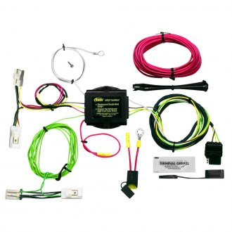 Hopkins® - Plug-In Simple!® Towing Wiring Harness with Short-Proof Power Converter