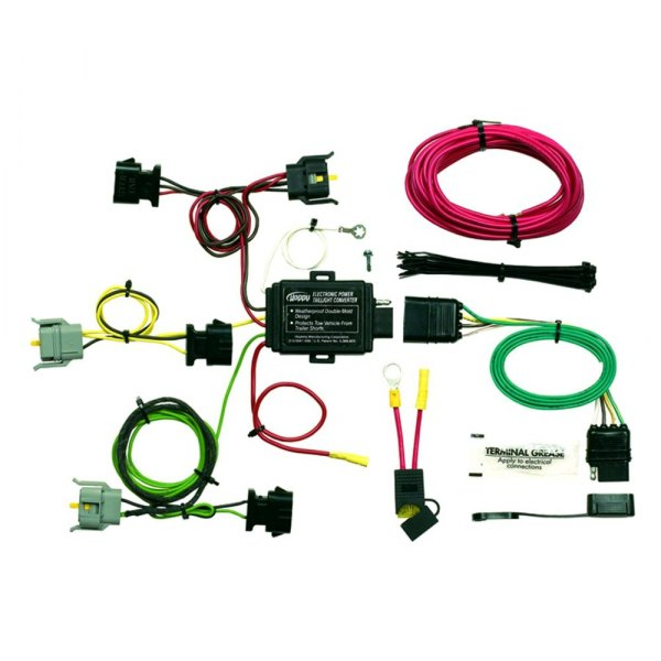 174 mercury mountaineer 1999 in simple 174 towing wiring harness with 4 flat connector