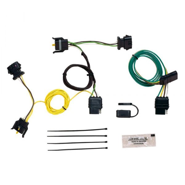 2000 ford excursion v10 fuse panel diagram hopkins® - ford excursion 2000 plug-in simple!® towing ... 2000 ford excursion wiring harness