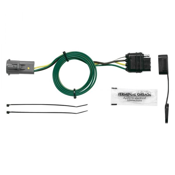 hopkins u00ae ford explorer 1998 2000 plug in simple  u00ae towing Ford OEM Electrical Connectors Ford Wiring Harness Kits