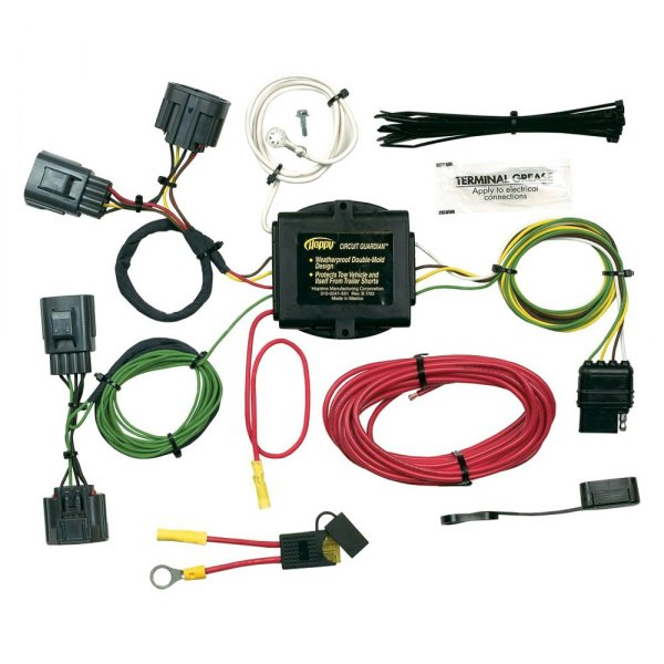 hopkins 42705 jeep commander 2006 towing wiring harness rh carid com