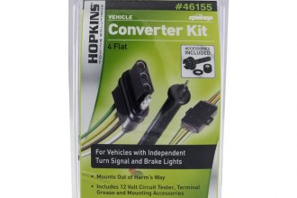 Hopkins® - 4-Wire Flat Kit with Taillight Converter