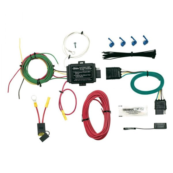 semi trailer wire harness kit hopkins towing   46255 power tail light converter  hopkins towing   46255 power tail light converter