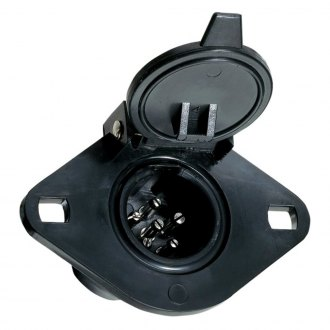 Hopkins® - 4-Wire Flat to 6-Pole Round Adapter