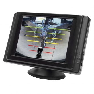 "Hopkins® - Smart Hitch™ Rear View System with Built-in 3.5"" Monitor and Flush Mount Camera"