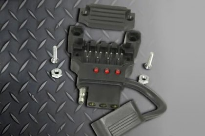 Hopkins Towing® 48195 - Quick-Fix™ 4-Wire Flat Connector Kit