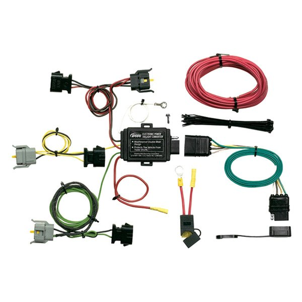 1998 ford explorer trailer wiring harness Ford Electrical Connectors Ford Factory Radio Wiring Harness