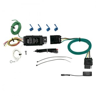 Hopkins® 46155 - 4-Wire Flat Kit with Taillight Converter