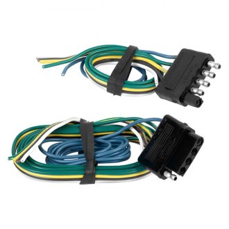 Hopkins® - 5-Wire Flat Connector Kit (48 Car / 18 Trailer End)
