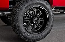 HOSTILE® - HAVOC Satin Black GMC Sierra