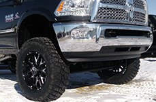 HOSTILE® - ZOMBIE Satin Black with Milled Accents on Dodge Ram