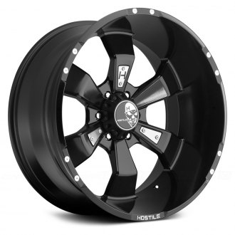 HOSTILE® - HAMMERED Satin Black