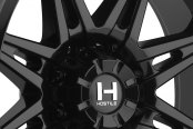 HOSTILE® - HAVOC Satin Black - 8 Lug Style Close-Up