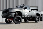 HOSTILE® - HAVOC Satin Black on Chevy Silverado 1500