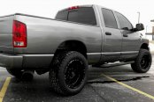 HOSTILE® - HAVOC Satin Black on Dodge Ram 2500