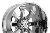 HOSTILE® - KNUCKLES Chrome - 8 Lug Style