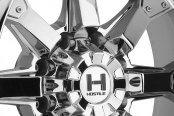 HOSTILE® - KNUCKLES Chrome - 8 Lug Style Close-Up