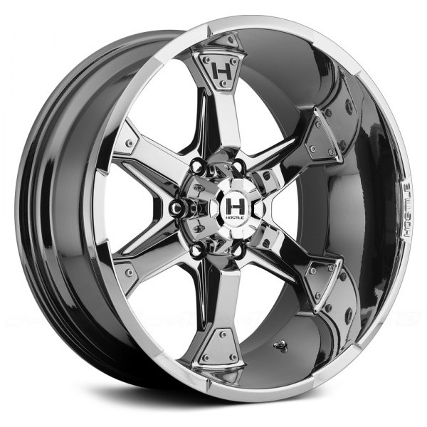 HOSTILE® - KNUCKLES Chrome - 6 Lug Style