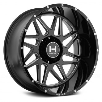HOSTILE® - SPROCKET Satin Black with Milled Accents
