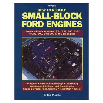 HP Books® - How to Rebuild Small-Block Ford Engines Manual