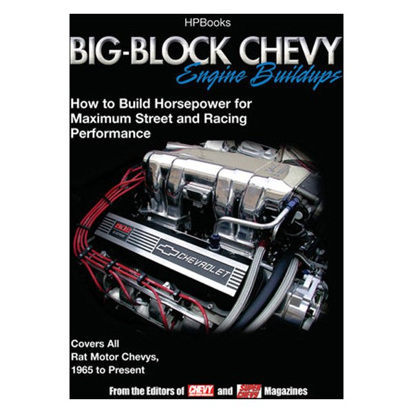 HP Books® 978-155788484-8 - Big-Block Chevy Engines Buildups