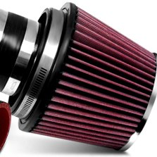HPS Silicone Hoses® - Red Short Ram Air Intake