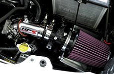 HPS Silicone Hoses® - Short Ram Air Intake Installed