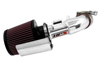 HPS Silicone Hoses® 27-163P - Polished Short Ram Air Intake with Heat Shield