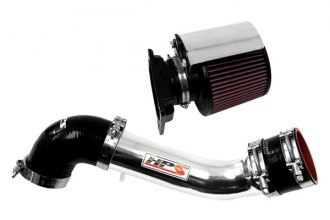 HPS Silicone Hoses® 27-423P-3 - Polished Short Ram Air Intake with Heat Shield