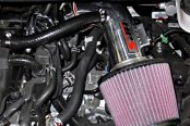 HPS Silicone Hoses® - Polished Short Ram Air Intake