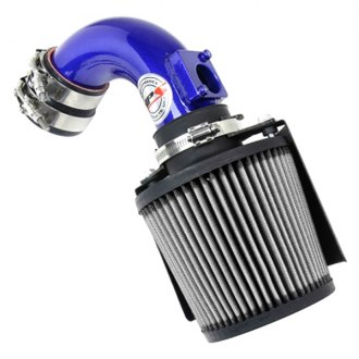"""2.5/""""-3.0/"""" UNIVERSAL COLD AIR Intake INDUCTION HOSE KIT System /& Narrow Filter BL"""