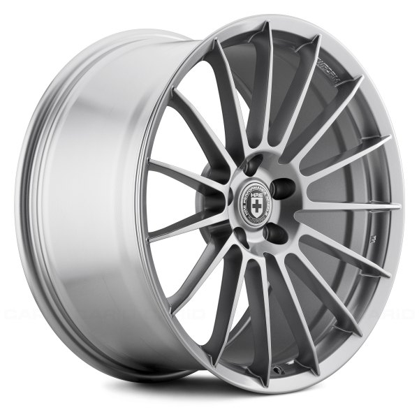 Liquid Silver HRE FlowForm® FF15 Wheels - Liquid Silver Rims