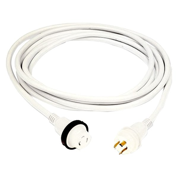 Hubbell® - 30A 25' White Cordset with LED
