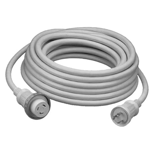 Hubbell® - 30A 25' White Cord Set