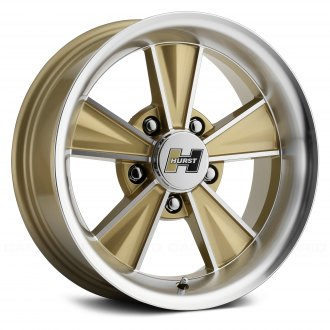 HURST® - HT324 DAZZLER Gold with Mirror Machined Face