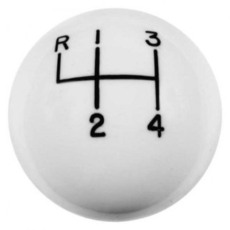 Hurst Shifters® - 4-Speed White Shift Knob