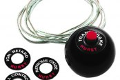Hurst Shifters® - Competition Shifter Knob with Built-In 12V Switch - 3/8-16
