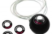 Hurst Shifters® - Competition Shifter Knob with Built-In 12V Switch - 7/16-20