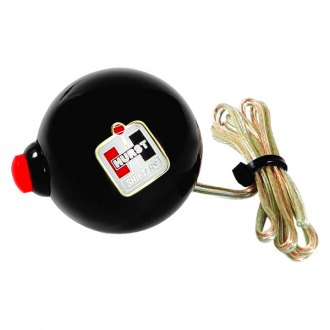 Hurst Shifters® - Sidewinder Black Shifter Knob with Hurst Logo