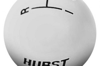 Hurst Shifters® - Classic White Shifter Knob - 3 Speed - 3/8-16