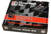 Hurst Shifters® - Black Anodized Comp Stick Kit - Package