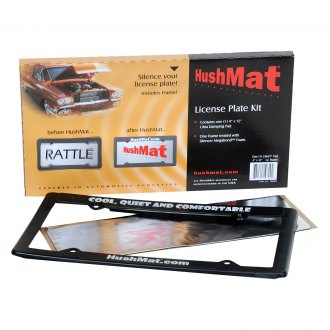 HushMat® - Sound Deadener/Anti Rattle License Plate Kit