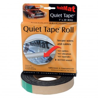 "HushMat® - 1"" x 20' x 1 mm Quiet Tape Shop Roll"