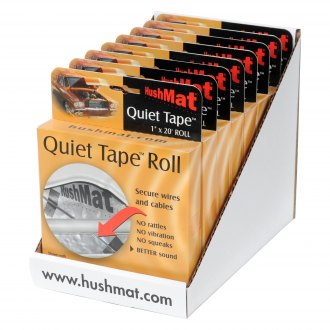 HushMat® - Quiet Tape Shop Roll Pliable Electronic Install Foam Tape