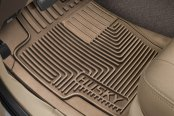 Image may not reflect your exact vehicle! Husky Liners® - Heavy Duty 1st Row Tan Floor Mats