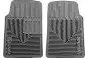 Husky Liners® - Heavy Duty 1st Row Gray Floor Mats