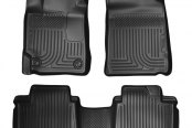 Husky Liners® - WeatherBeater™ 1st & 2nd Row Black Floor Liners