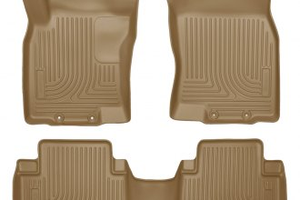Husky Liners® 98673 - WeatherBeater™ Floor Liners (1st and 2nd Rows, Tan)