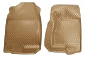 Husky Liners® - Classic Style™ Floor Liners - 1st Row, Tan